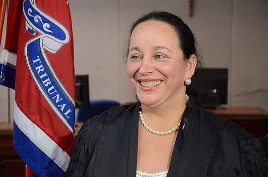 Maria do Socorro Santiago, presidente do TJ BA