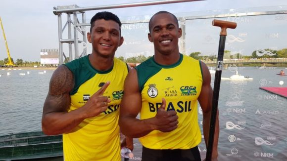 Isaquias e Erlon disputam final do Mundial de Canoagem|| Foto Helena Rebello/GloboEsporte.